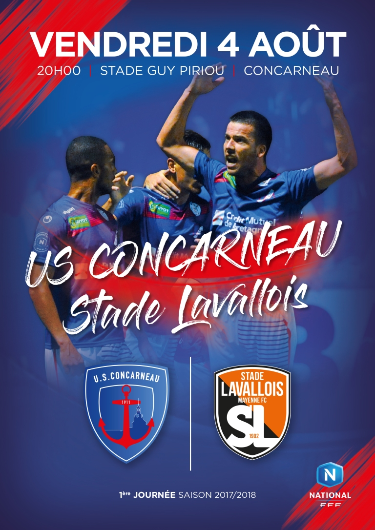 Affiche match USC-SL